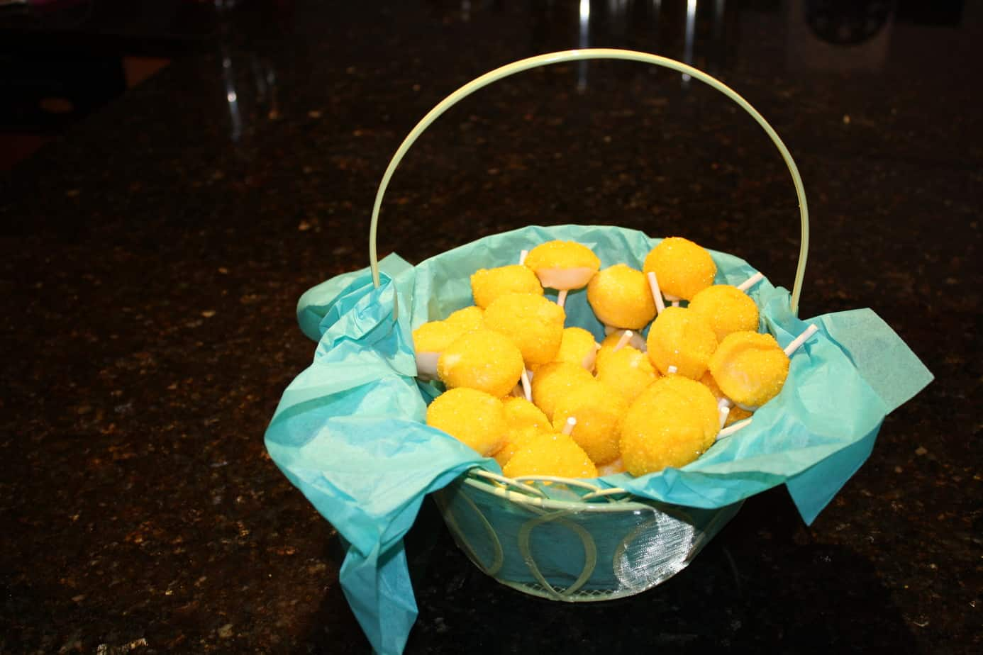 Party Favor Lemon Cake Pops Simply Real Moms