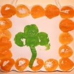 St. Patrick's Day Craft ~ Shamrock Prints