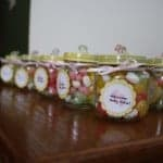 DIY Baby Food Jar Favors