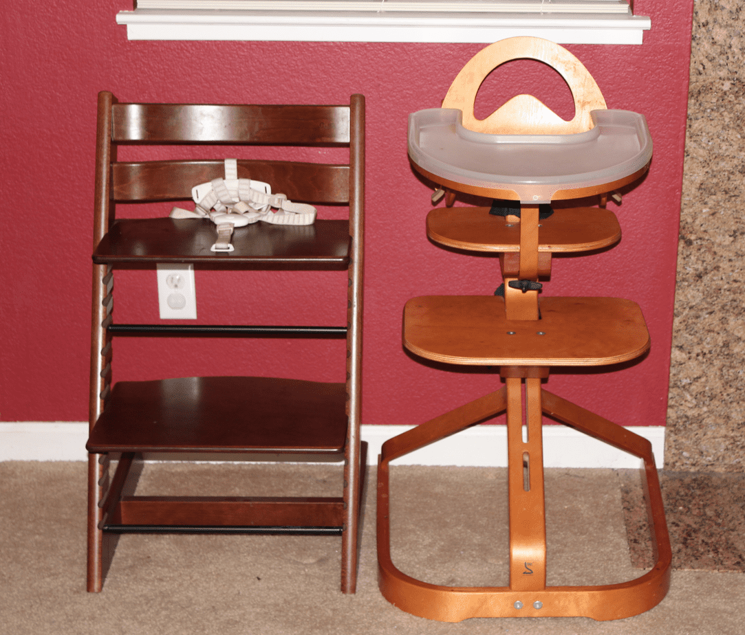 Not Your Ordinary Highchairs: The Svan Vs. The Tripp Trapp