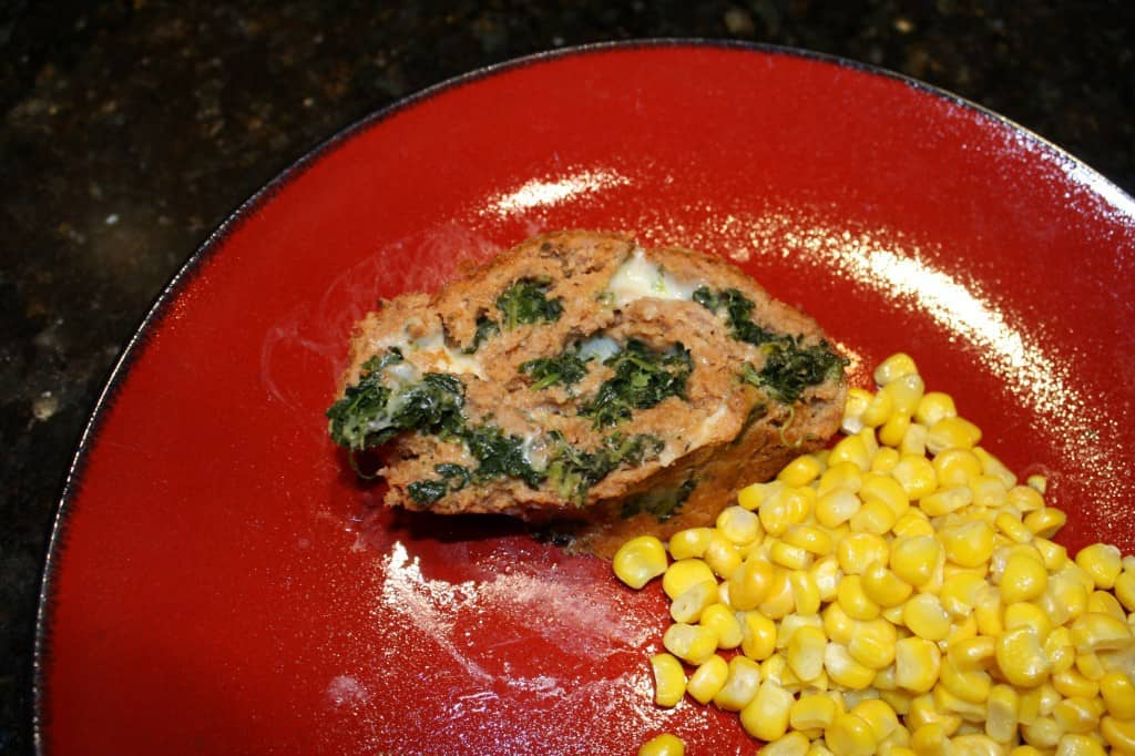 Spinach Swirl Turkey Meatloaf 8