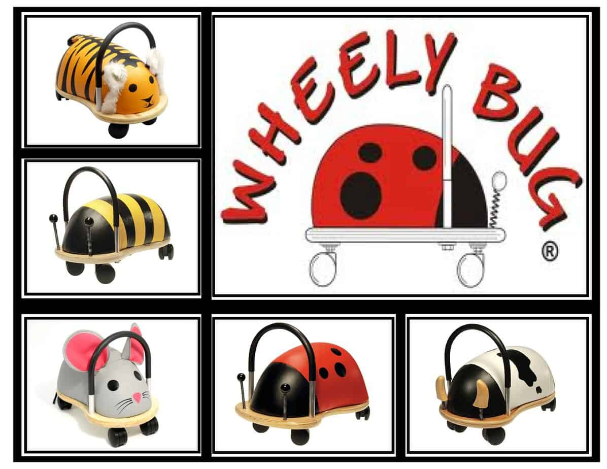 Wheely bug ride on toys that