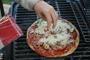 Pizza on the Grill! 6