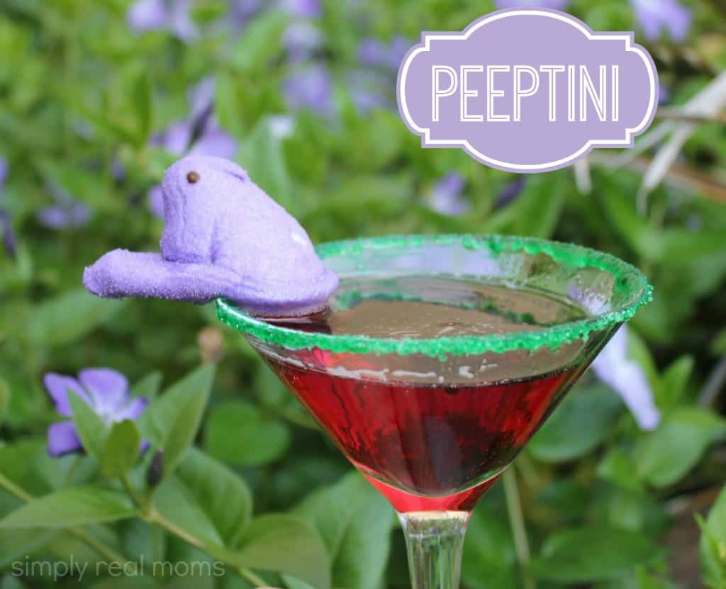Easter Cocktail: Peeptini 3