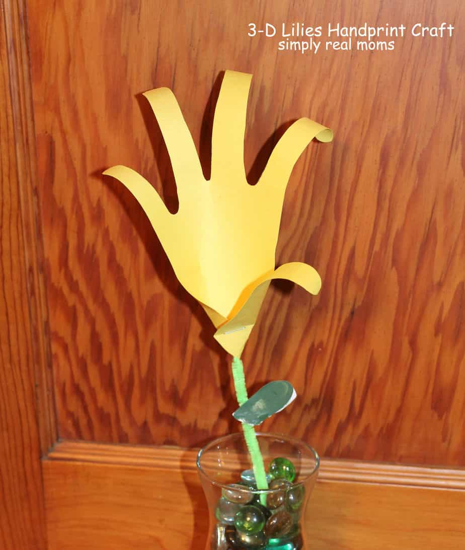 3d handprints lilies craft we all know how grandparents negle Image collections