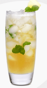 Happy Hour:  Pineapple Honey Mojito
