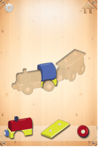 App Of The Day: Woozzle Wood Puzzle for Toddler's 2