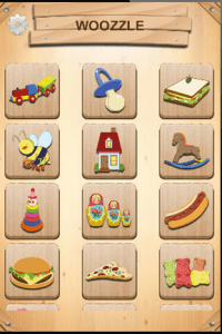 App Of The Day: Woozzle Wood Puzzle for Toddler's 1