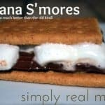 banana smores1 500x3341 150x150 Chocolate Graham Cracker Smore Cupcake