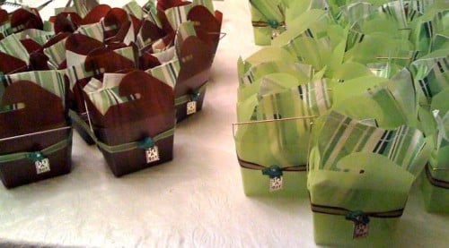 favor boxes 500x277 Turtle Themed Baby Shower