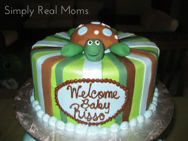 turtle themed baby shower 12
