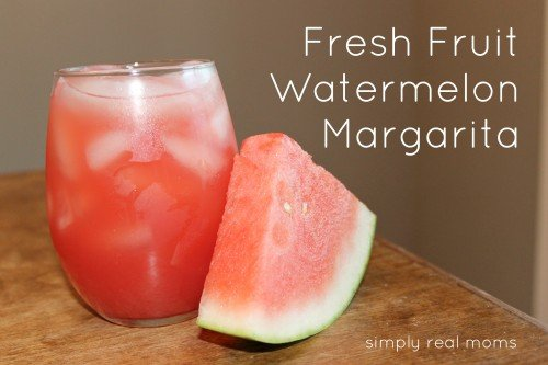 watermelon marg 500x333 Happy Hour: Real Fruit Watermelon Margaritas