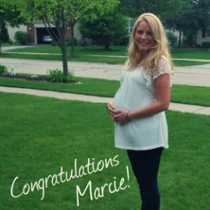 Shower Surprise: Congratulations, Marcie!