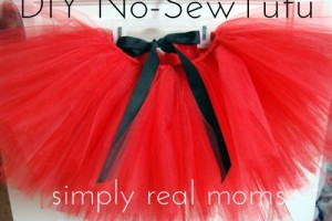 Adorable DIY No-Sew Tutu