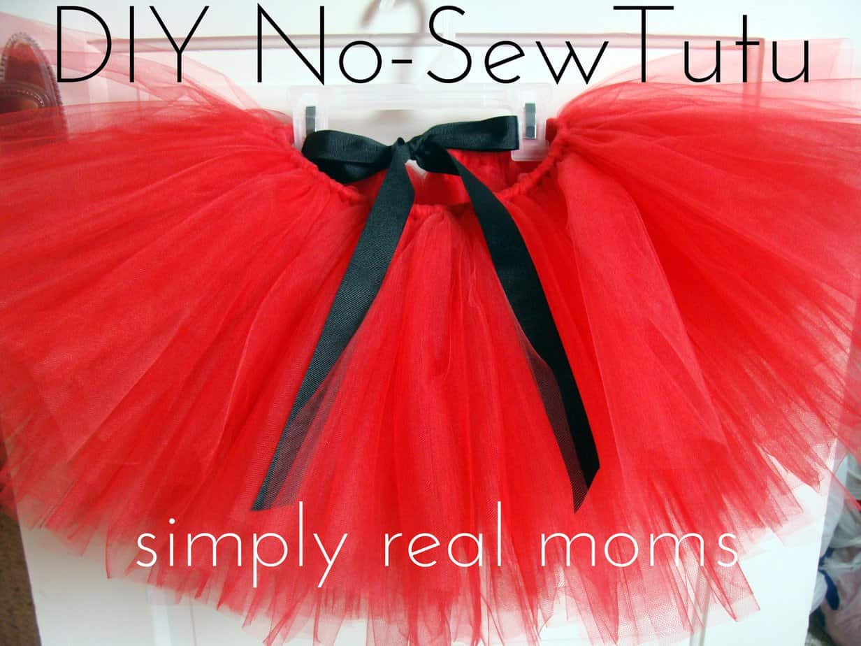 How to Make a No Sew Ballet Tutu