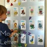 Magnetic Letter Board