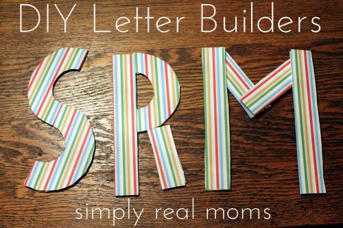 letter builders 500x333 DIY Letter Builders and Letter Learning Activities!