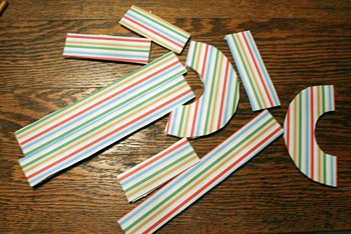 letter builders all 500x333 DIY Letter Builders and Letter Learning Activities!