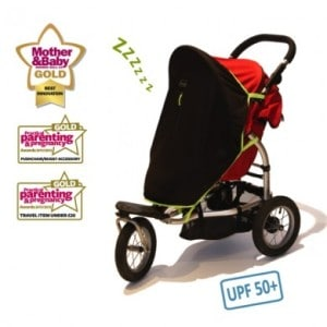 SnoozeShade Plus: The Perfect Stroller Accessory for Moms on the Go!