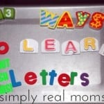 13 Ways to Learn Letters Without Flashcards