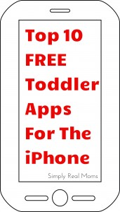 Top 10 FREE Toddler Apps For The iPhone 2