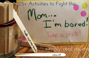 "25+ Activities to Fight the Summer ""Mom, I'm bored!!"" 2"