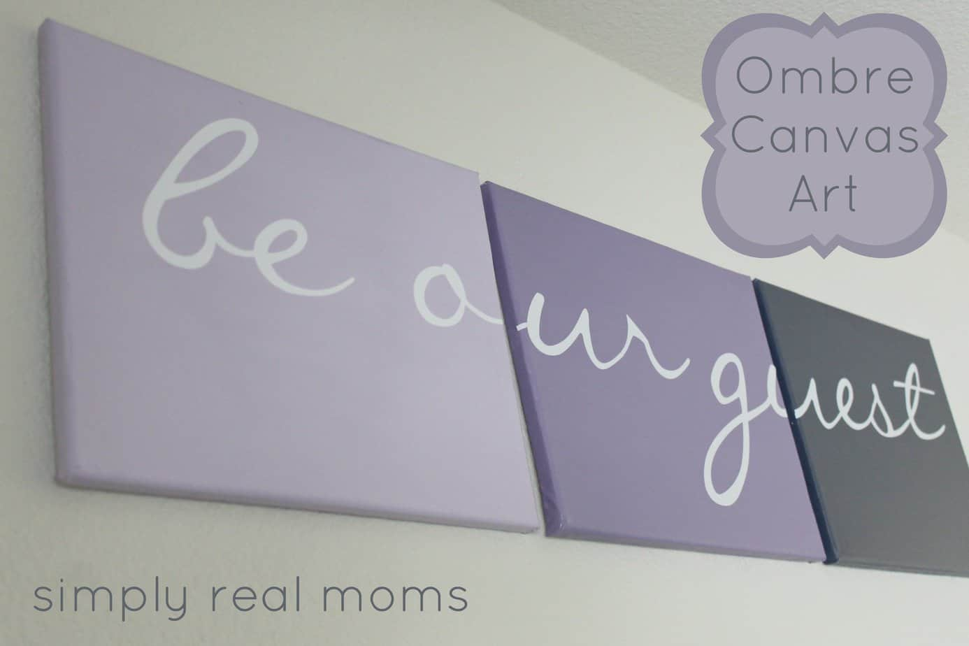 Diy Canvas Wall Art Archives Simply Real Style
