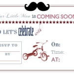 Vintage Little Man Themed Baby Shower