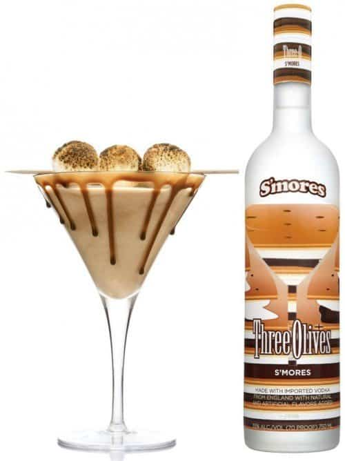 S'mores Sea Salt Martini 500x668 Happy Hour: S'mores Sea Salt Martini