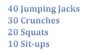 Workout Wednesdays: Burn 100 Calories in Less than 10 Minutes  4
