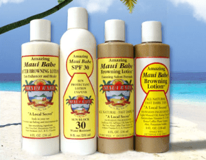 Maui Babe: BEST Tanning Lotion Out There!  1