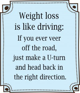 Motivate Me Monday: Weight Loss is Like Driving: Free Printable! 1