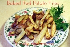 Baked Red Potato Fries 1