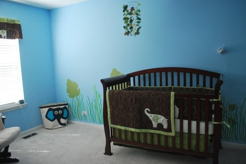 Decorating A Gender Neutral Jungle Themed Nursery