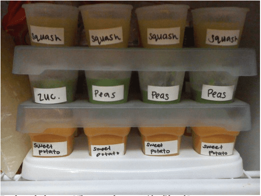 Making Your Own Baby Food 3