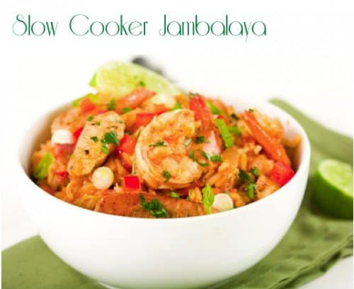 Slow Cooker Jambalaya 500x408 Our Favorite Go To Crock Pot Meals