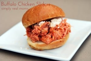 5 Ingredient Slow Cooker Buffalo Chicken Sliders—Perfect for Game Day! 1