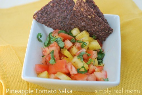 Pineapple Tomato Salsa—A New Spin on Garden Salsa 2