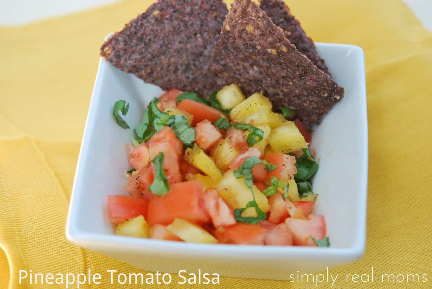 Pineapple Tomato Salsa—A New Spin on Garden Salsa 1