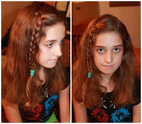 5 cute and easy back to school hairstyles simple braid 500x435 5 Cute and Easy Back to School Hairstyles!