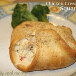 Chicken Crescent Squares
