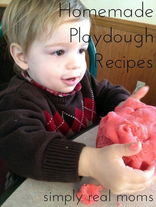 Homemade Playdough Recipes 3