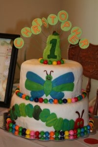 The Very Hungry Caterpillar Birthday Bash! 4