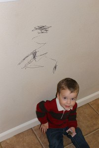 How To Get Permanent Marker Off Your Walls (Patience Not Included) 2