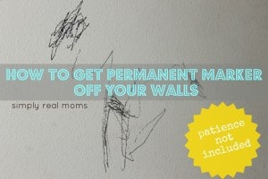 How To Get Permanent Marker Off Your Walls (Patience Not Included) 1