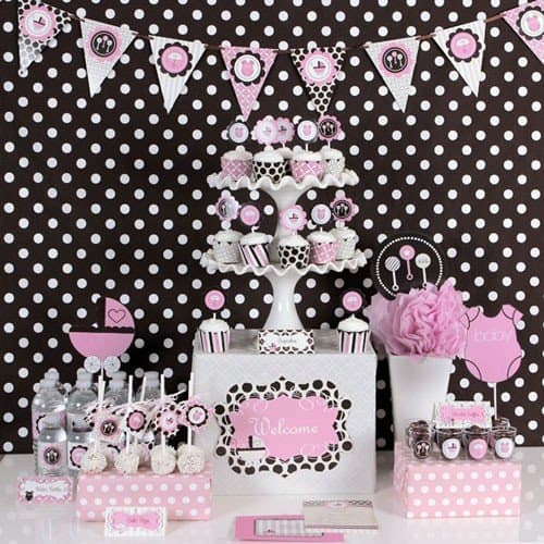 unique modern baby shower themes modern baby shower pixie party
