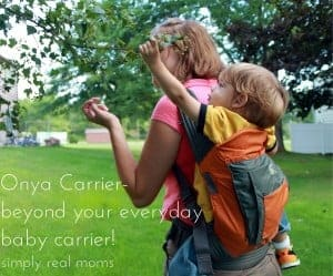 Onya Carrier-beyond your everyday baby carrier!  4