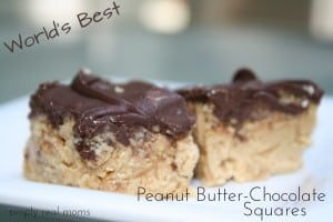 World's Best Peanut Butter-Chocolate Squares 1
