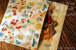 Planet Wise: Bag Your Snack Stuff—Without Plastic!  2