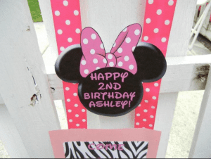 Minnie Mouse Birthday Party 1